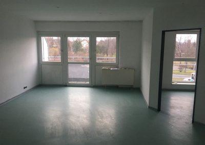 3-Zimmer-Wohnung mit Balkon, frisch renoviert, auf Wunsch fix und fertig mit Einbauküche WE48LS27