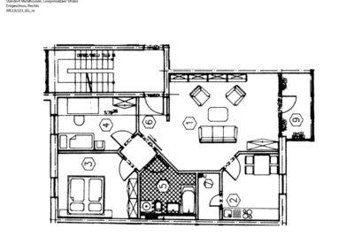 3-Zimmer-Wohnung mit Balkon, frisch renoviert auf Wunsch fix und fertig mit Einbauküche WE22LS23